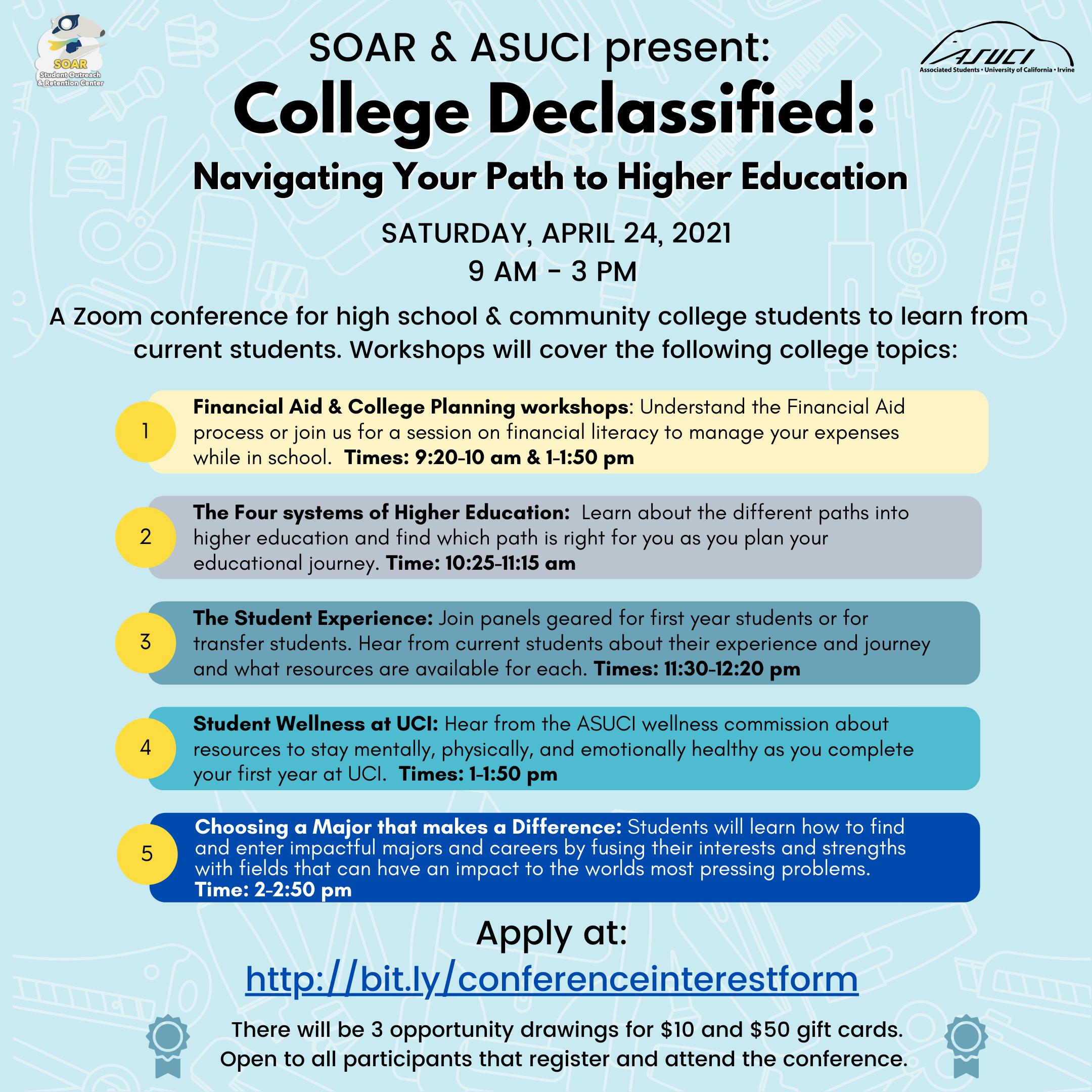 College Declassified
